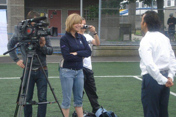 Interview with TV Station in Vancouver